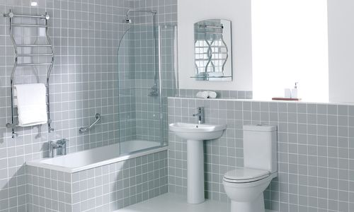 Modern Bathroom Suites Discount Toilet And Basin 4 Piece Bathroom with ...